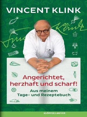 cover image of Angerichtet, herzhaft und scharf!