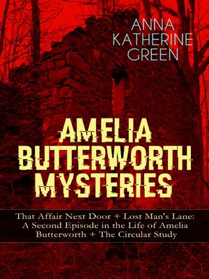 cover image of Amelia Butterworth Mysteries