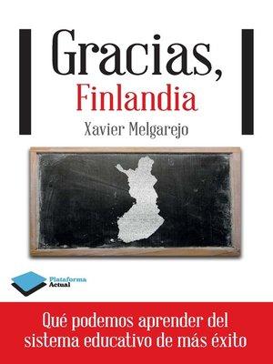 cover image of Gracias, Finlandia
