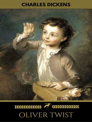cover image of OLIVER TWIST (Illustrated Edition)