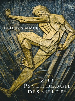 cover image of Zur Psychologie des Geldes