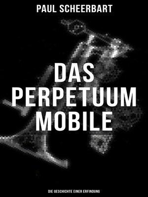 cover image of Das Perpetuum Mobile