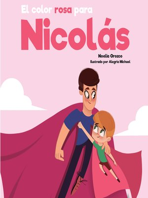 cover image of El color rosa para Nicolás
