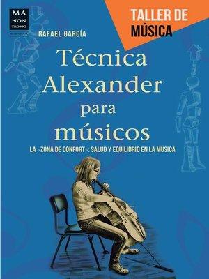 cover image of Técnica Alexander para músicos