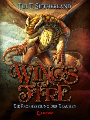 cover image of Wings of Fire 1--Die Prophezeiung der Drachen