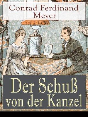 cover image of Der Schuß von der Kanzel