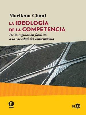cover image of La ideología de la competencia