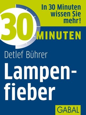 cover image of 30 Minuten Lampenfieber