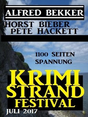 cover image of Krimi Strand Festival Juli 2017