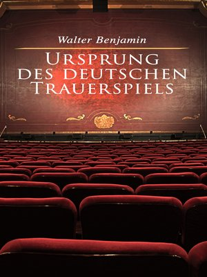 cover image of Ursprung des deutschen Trauerspiels