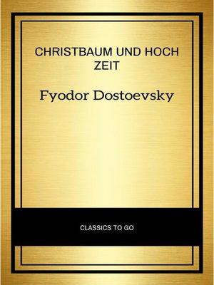 cover image of Christbaum und Hochzeit