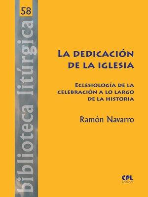 cover image of La dedicación de la Iglesia