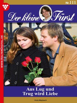 cover image of Der kleine Fürst 111 – Adelsroman