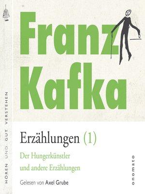 cover image of Franz Kafka _ Erzählungen (1)