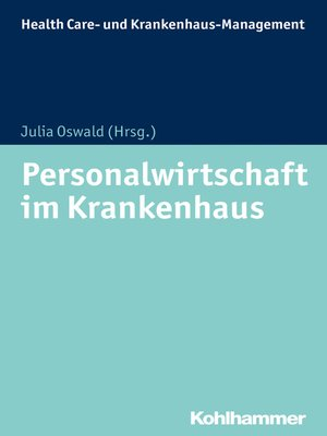 cover image of Personalwirtschaft im Krankenhaus