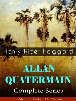 cover image of Allan Quatermain – Complete Series