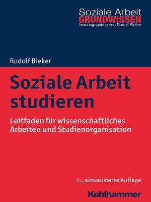 cover image of Soziale Arbeit studieren