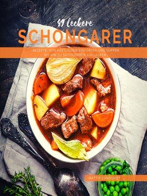 cover image of 49 Leckere Schongarer-Rezepte