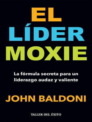cover image of El lider Moxie