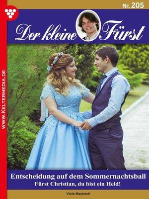 cover image of Der kleine Fürst 205 – Adelsroman