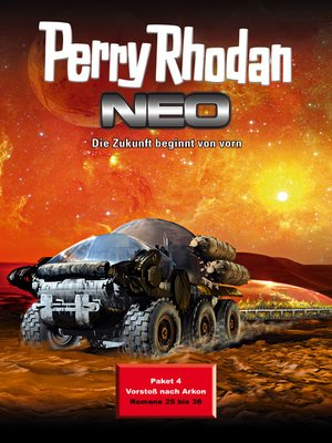 cover image of Perry Rhodan Neo Paket 4