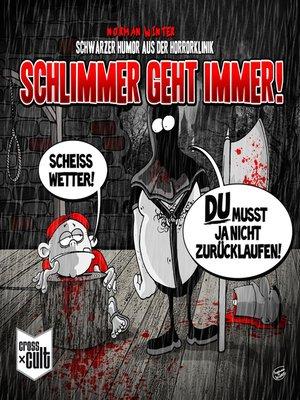 cover image of Schwarzer Humor aus der Horrorklinik 1