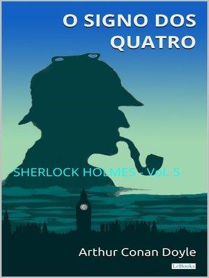 cover image of O Signo dos Quatro