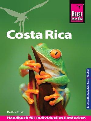 cover image of Reise Know-How Reiseführer Costa Rica