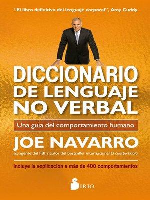 cover image of Diccionario de lenguaje no verbal