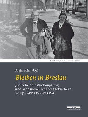 cover image of Bleiben in Breslau