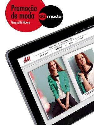 cover image of Promoção de moda
