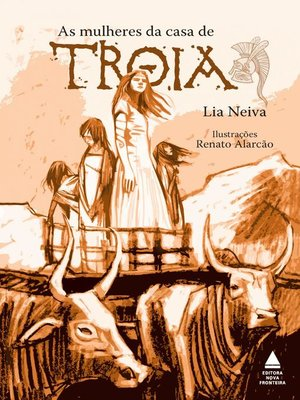 cover image of As mulheres da casa de Troia