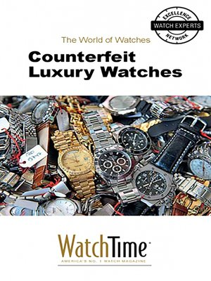 cover image of Counterfeit Luxury Watches