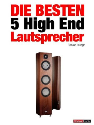 cover image of Die besten 5 High End-Lautsprecher