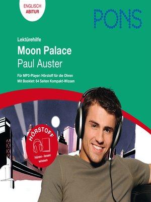 cover image of PONS Lektürehilfe--Paul Auster, Moon Palace