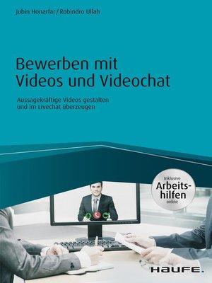 cover image of Bewerben mit Videos und Videochat--inkl. Arbeitshilfen online