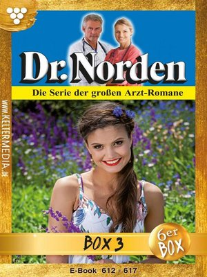 cover image of Dr. Norden (ab 600) Jubiläumsbox 3 – Arztroman