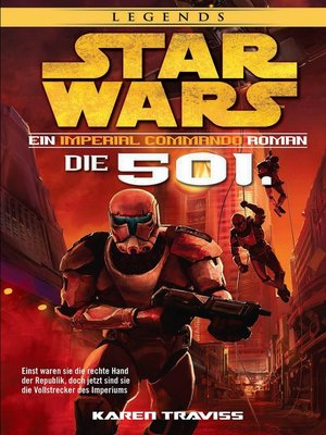 cover image of Imperial Commando: Die 501.