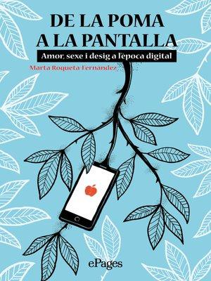 cover image of De la poma a la pantalla
