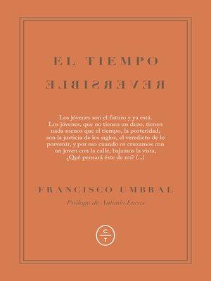 cover image of El tiempo reversible