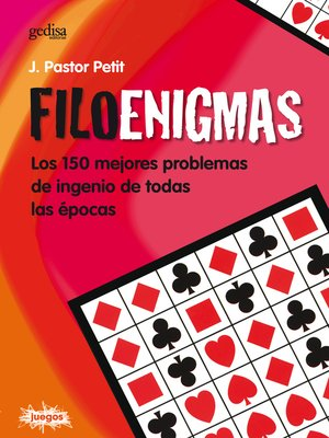 cover image of Filoenigmas