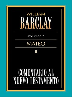 cover image of Comentario al Nuevo Testamento Volume 02