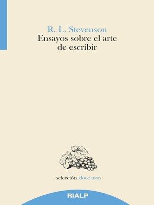 cover image of Ensayos sobre el arte de escribir