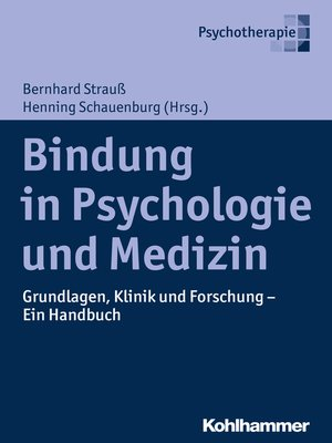 cover image of Bindung in Psychologie und Medizin