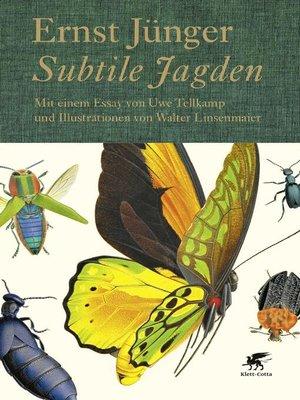 cover image of Subtile Jagden