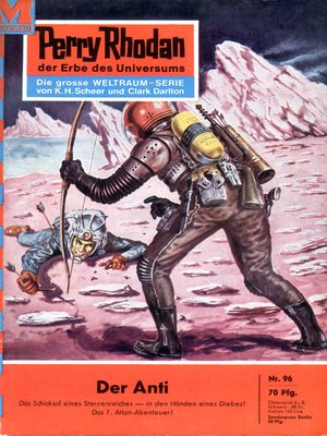 cover image of Perry Rhodan 96
