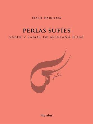cover image of Perlas sufíes