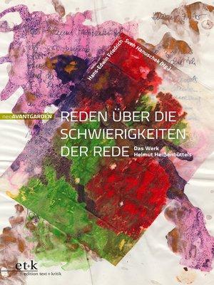 cover image of Reden über die Schwierigkeiten der Rede