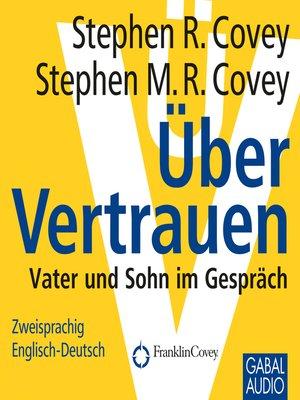 cover image of Über Vertrauen