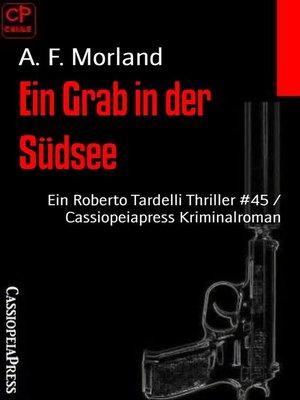 cover image of Ein Grab in der Südsee